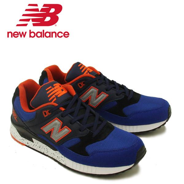 【送料無料】ニュー バランス(New Balance) M530/530 ランニング スニーカー ≪M530BAC/Blue with Black≫シューズ/メンズ/男性用【楽ギフ_包装選択】[CC]