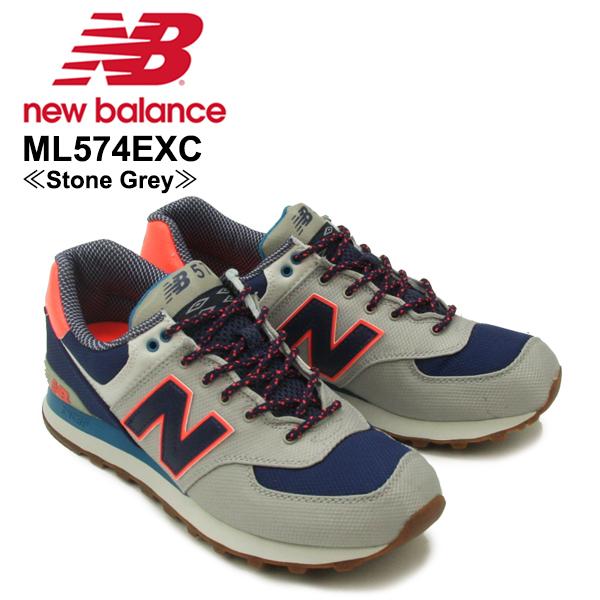 【送料無料】ニュー バランス(New Balance) ML574/574 Weekend Expedition ランニング スニーカー ≪ML574EXC/Stone Grey≫シューズ/メンズ/男性用[CC]