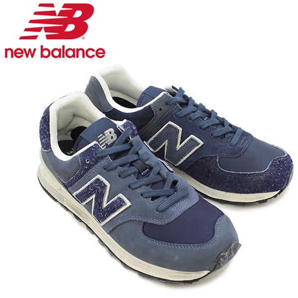 【送料無料】ニュー バランス(New Balance) ML574 NEW BALANCE×INVINCIBLE スニーカー ≪ML574INV/NAVY≫シューズ/メンズ/男性用[CC]