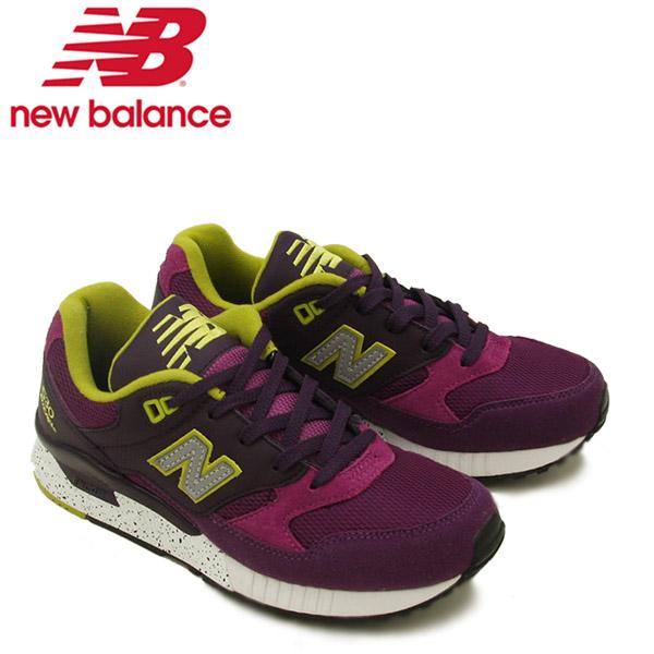 【送料無料】ニュー バランス(New Balance) W530/530 ランニング スニーカー ≪W530BAB/Purple with Violet≫シューズ/レディース/女性用【楽ギフ_包装選択】[CC]