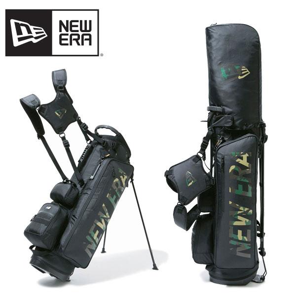 ニュー エラ(NEW ERA) スタンド式 キャディーバッグ 《W.Camo/Black》 ゴルフ/キャディーバッグ ポイント10倍 送料無料 国内正規品 [EE]