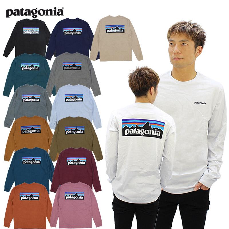 パタゴニア patagonia メンズ ロングスリーブ P-6ロゴ レスポンシビリティー L SL Mens Long-Sleeved 長袖 Tシャツ 宅配便送料無料 P-6 AA ロンT Responsibili-Tee 絶品 Logo