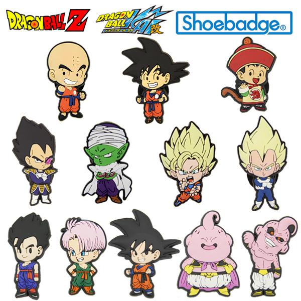 七龙珠Z人物徐徽章(Doragonball Z Shoebadge)