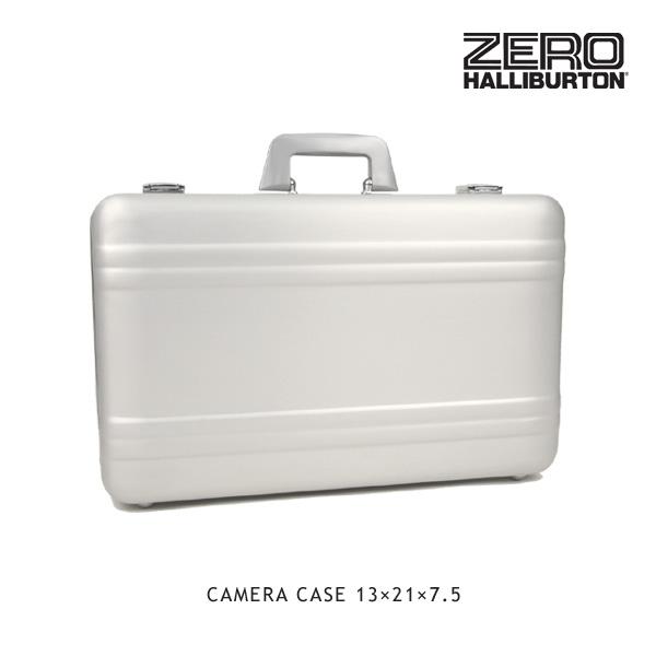 【送料無料】ゼロハリバートン(ZERO HALLIBURTON) カメラケース 13×21×7.5(SILVER CAMERA CASE 13×21×7.5)【楽ギフ_包装選択】[EE]