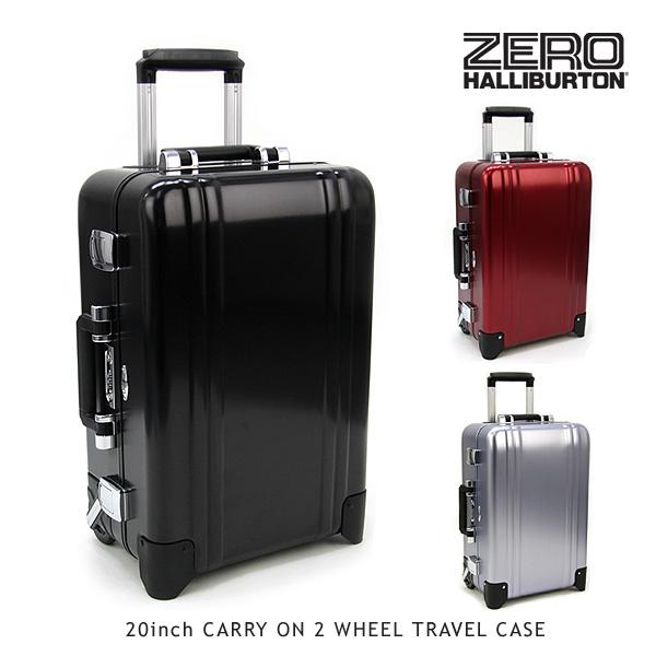 【送料無料】ゼロハリバートン(ZERO HALLIBURTON) ZRトローリー (20inch CARRY ON 2 WHEEL TRAVEL CASE)【楽ギフ_包装選択】【16】[FF]
