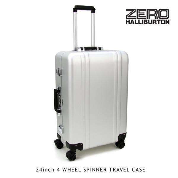 【送料無料】ゼロハリバートン(ZERO HALLIBURTON) ZRトローリー (24inch 4 WHEEL SPINNER TRAVEL CASE)【楽ギフ_包装選択】【31】[FF]