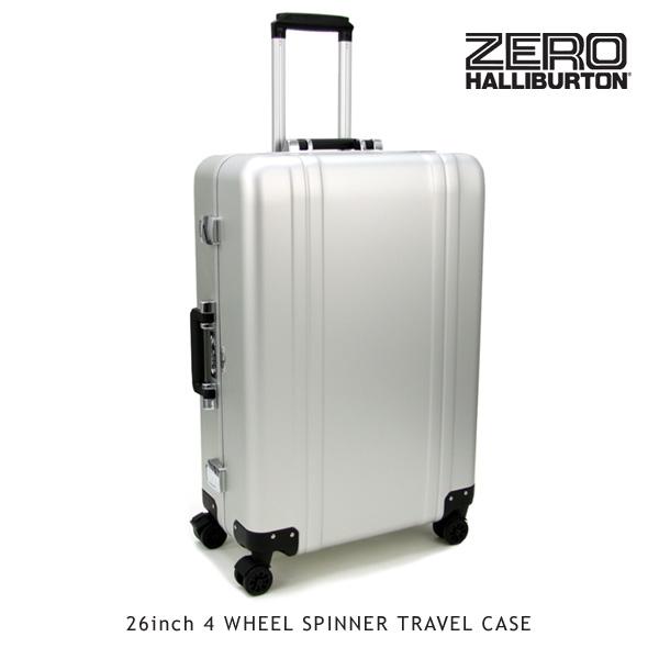 【送料無料】ゼロハリバートン(ZERO HALLIBURTON) ZRトローリー (26inch 4 WHEEL SPINNER TRAVEL CASE)【楽ギフ_包装選択】[GG]