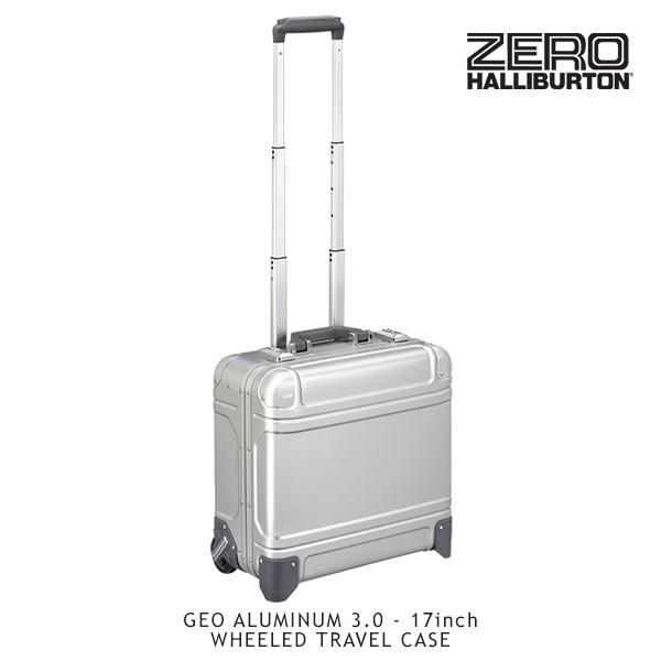 【送料無料】ゼロハリバートン(ZERO HALLIBURTON) ジオ アルミニウム3.0(17inch WHEELED TRAVEL CASE)スーツケース/ビジネス ケース【14】【楽ギフ_包装選択】