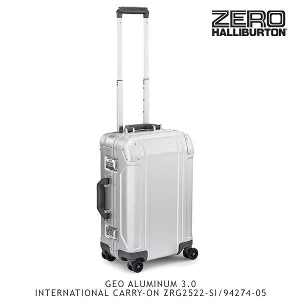 【送料無料】ゼロハリバートン(ZERO HALLIBURTON) ジオ アルミニウム 3.0 INTERNATIONAL CARRY-ON ZRG2522-SI/94274-05 /キャリーケース/スーツケース/ハードラゲージ【30】[GG]