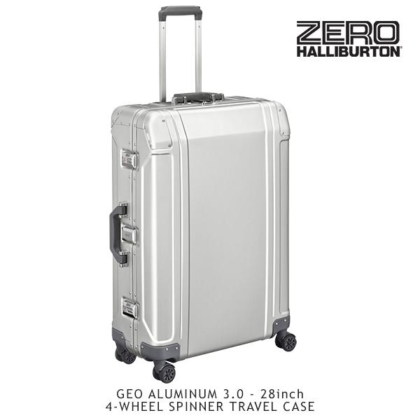 【送料無料】ゼロハリバートン(ZERO HALLIBURTON) ジオ アルミニウム 3.0(28inch 4-WHEELED SPINNER TRAVEL CASE)スーツケース/ビジネス ケース【14】【楽ギフ_包装選択】