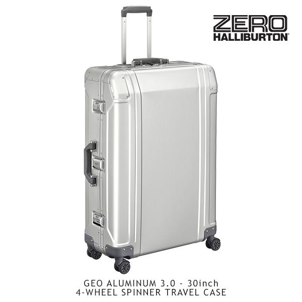 【送料無料】ゼロハリバートン(ZERO HALLIBURTON) ジオ アルミニウム 3.0(30inch 4-WHEELED SPINNER TRAVEL CASE)スーツケース/ビジネス ケース【17】【楽ギフ_包装選択】