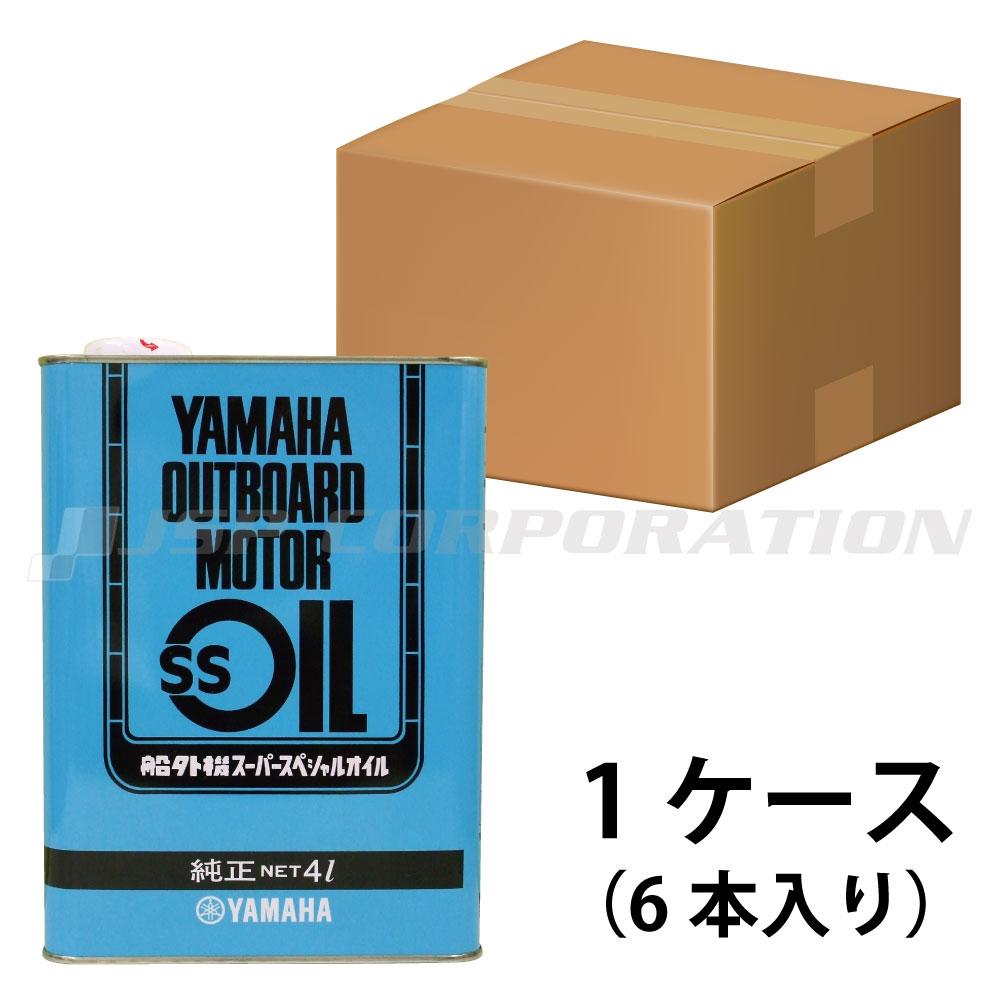 YAMAHA(ヤマハ)船外機SSオイル1ケース スチール缶 4L×6本