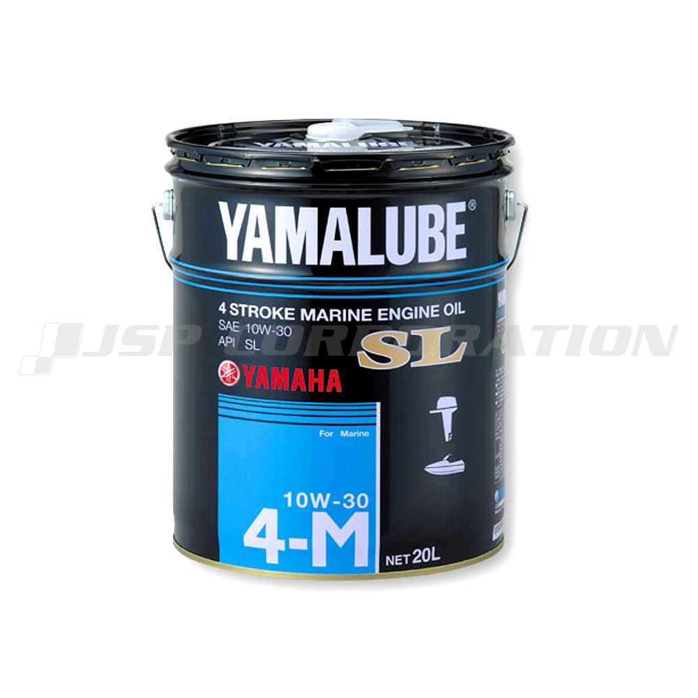 YAMAHA(ヤマハ)4サイクル(ガソリン)マリンオイルSL10W-30 ペール缶 20L