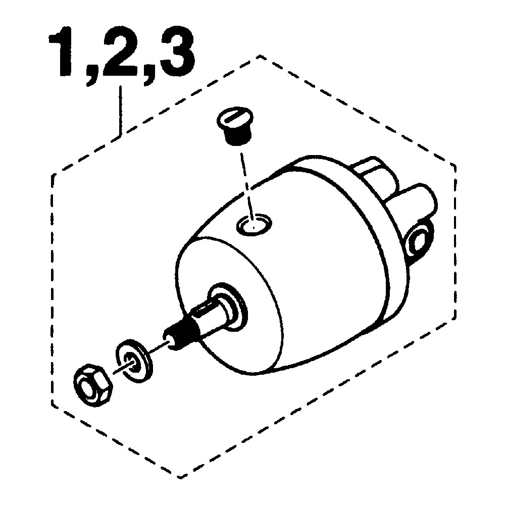 SEAPARTNER(シーパートナー)手動油圧操舵機用部品 ヘルムポンプ H-623-D 23cc