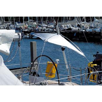 BLUE PERFORMANCE サンシェードフリーハンギング 1.6m×1.6m ビミニトップ オーニング ボート