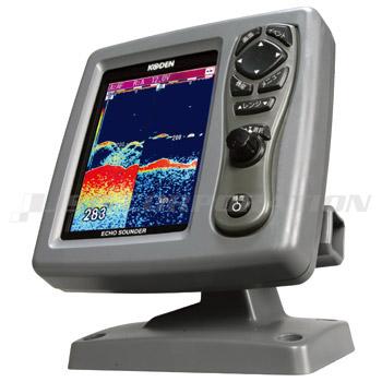 KODEN5.7インチ液晶カラー魚探CVS-126(2周波) 50/200kHz 600W
