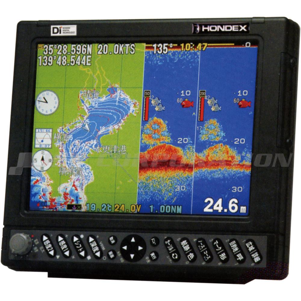 HONDEX(ホンデックス)10.4型カラー液晶プロッター魚探HE-7311-DI-Bo アンテナ内蔵 1kW・50/200kHz