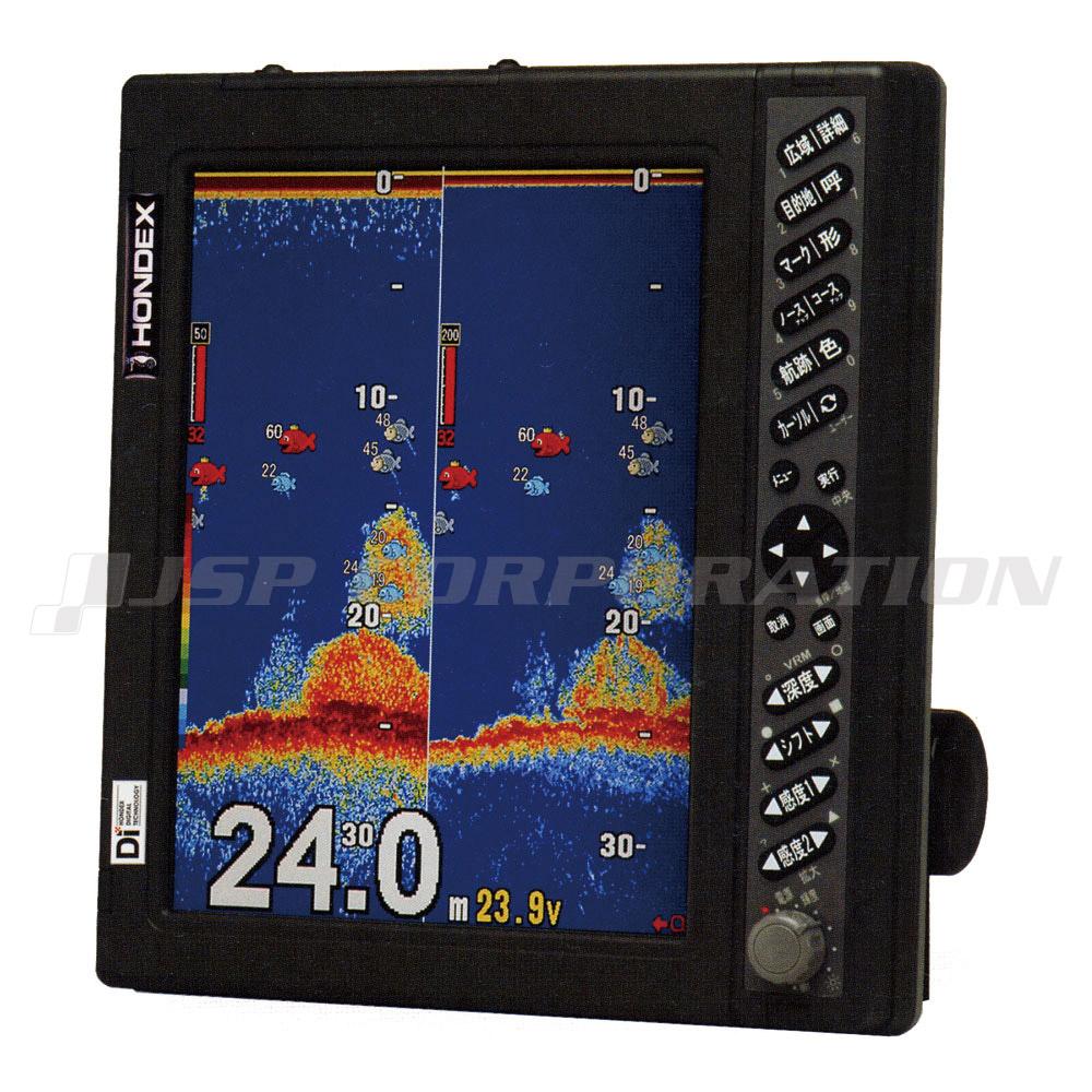 HONDEX(ホンデックス)10.4型カラー液晶デジタル魚群探知機HE-7311F-DI-Bo TD68 50kHz(2kw)&200kHz(1kw)