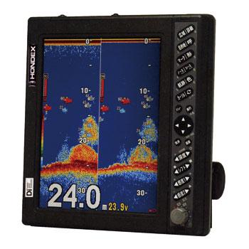 HONDEX(ホンデックス)10.4型カラー液晶デジタル魚群探知機HE-7311F-DI-Bo TD28 600W・50/200kHz