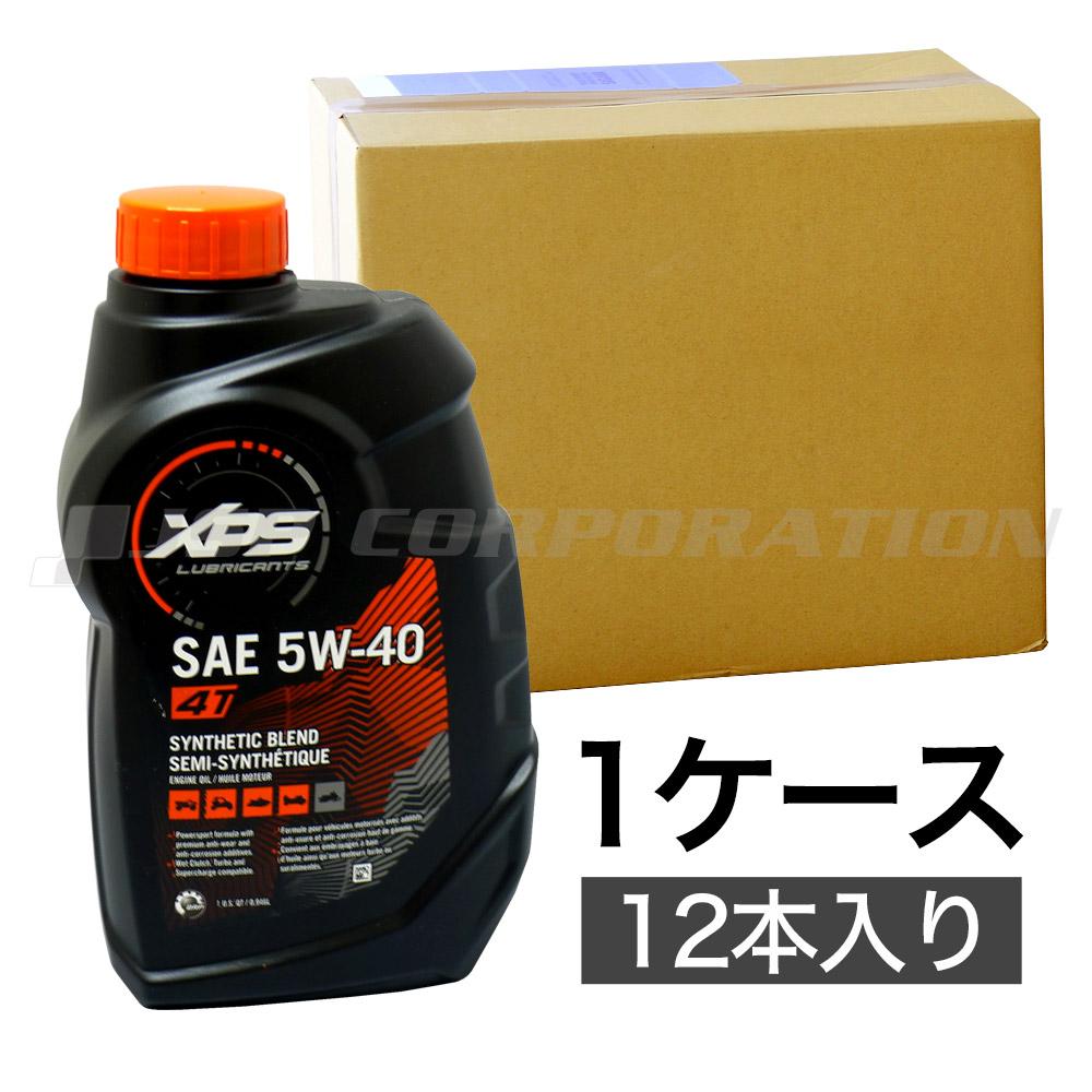 SEADOO(シードゥー) 4ストローク シンセティックブレンドオイル 5W-40 (946mL×12本)