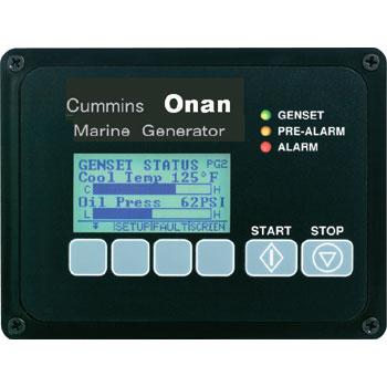 ONANオナン発電機 純正リモートパネル デジタルディスプレイ付
