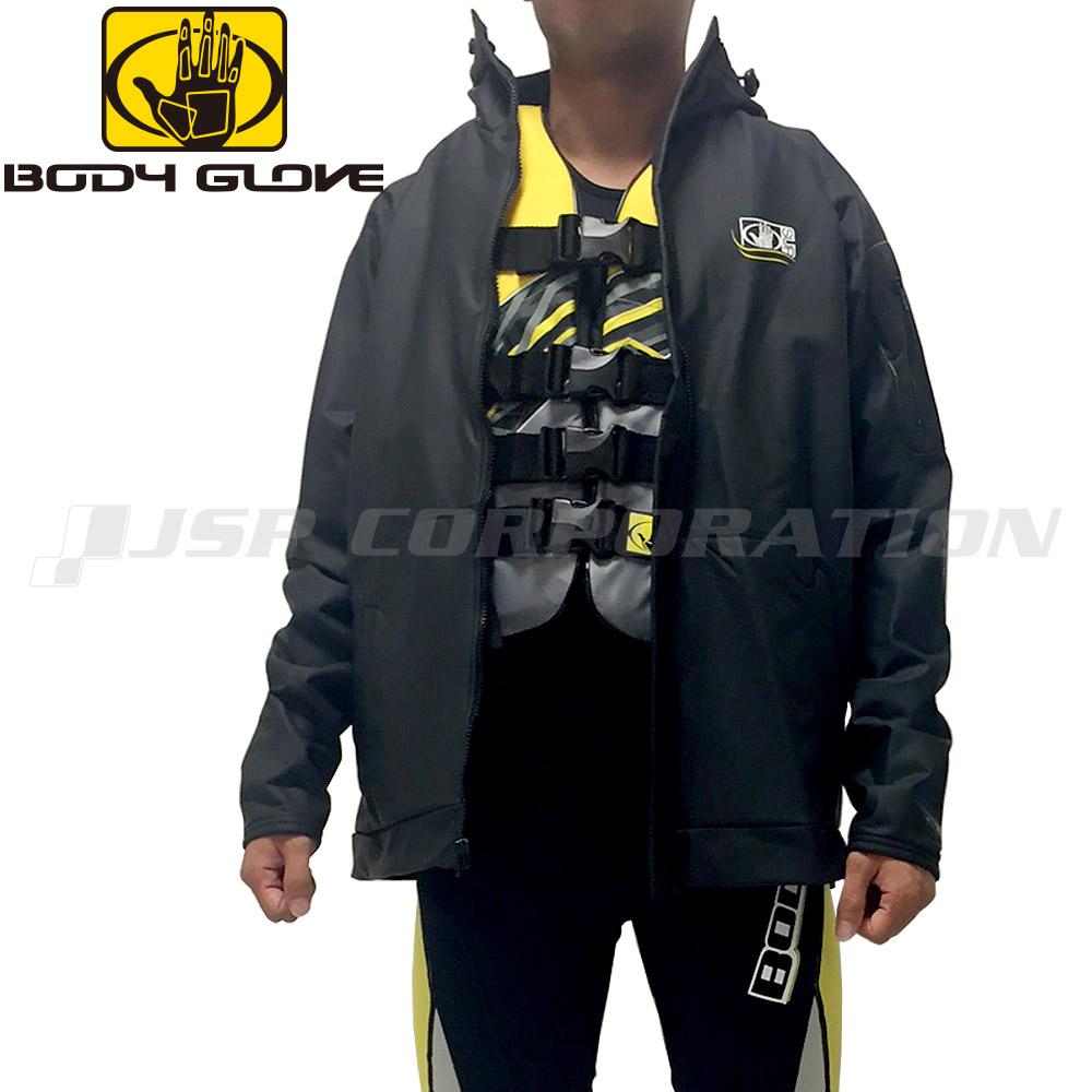BODYGLOVE(ボディーグローブ)フリースジャケット ブラック 2XL