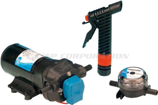 JABSCOデッキ洗浄ポンプ16.3L/分 12V 32700-0392
