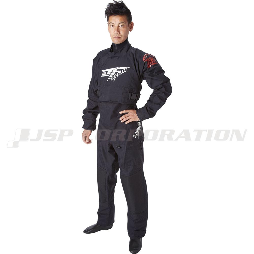 ドライスーツ メンズ/ウィメンズ エボリューションドライスーツスモールジッパー付きソックスタイプ J-FISH / ジェイフィッシュ ジェットスキー ウェイクボード 防寒