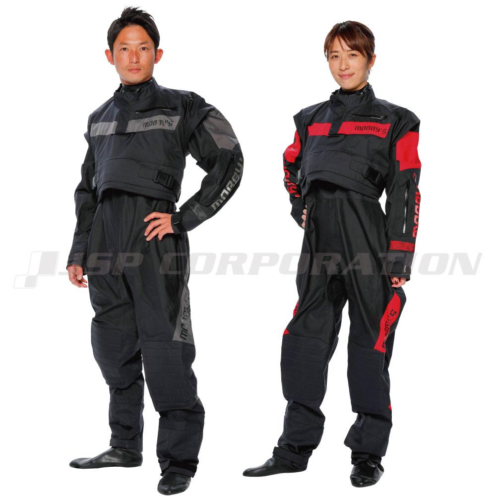 ドライスーツ メンズ/ウィメンズ アグレッサードライスーツソックスタイプ スモールジッパー付 MOBBY'S / モビーズ ジェットスキー ウェイクボード 防寒