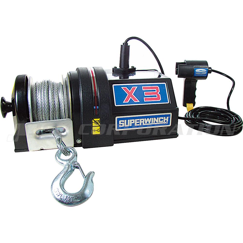 スーパーウィンチ X3 24V S-09