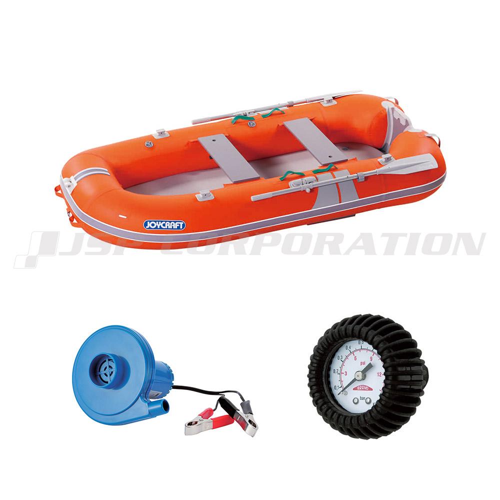 KEM-275 2019 わくわくスーパーセレクション GSセット エアフロア 4人乗り ゴムボート ジョイクラフト 釣り 手漕ぎ ローボート