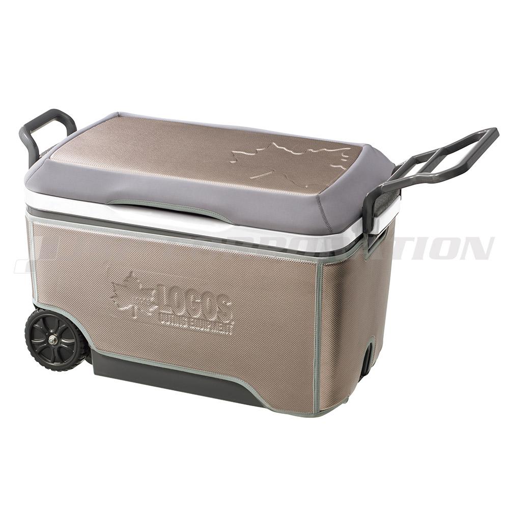 ロゴス(LOGOS) ハイパー氷点下キャリークーラー 60L キャスター付き / 81670020 72×40×44.5cm クーラーボックス 大容量 持ち運び 冷凍