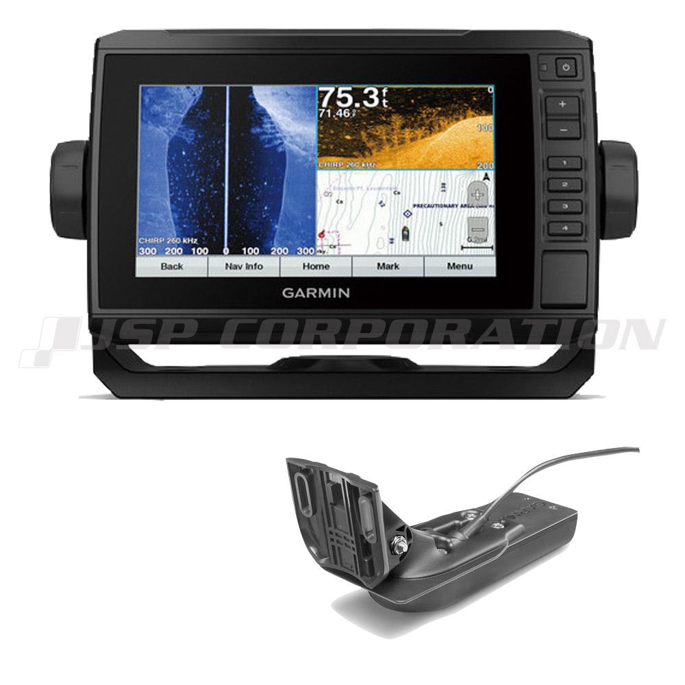 ガーミン 魚探 エコマッププラス 75cv 7インチ GPS連動 GT22HW-TM振動子セット