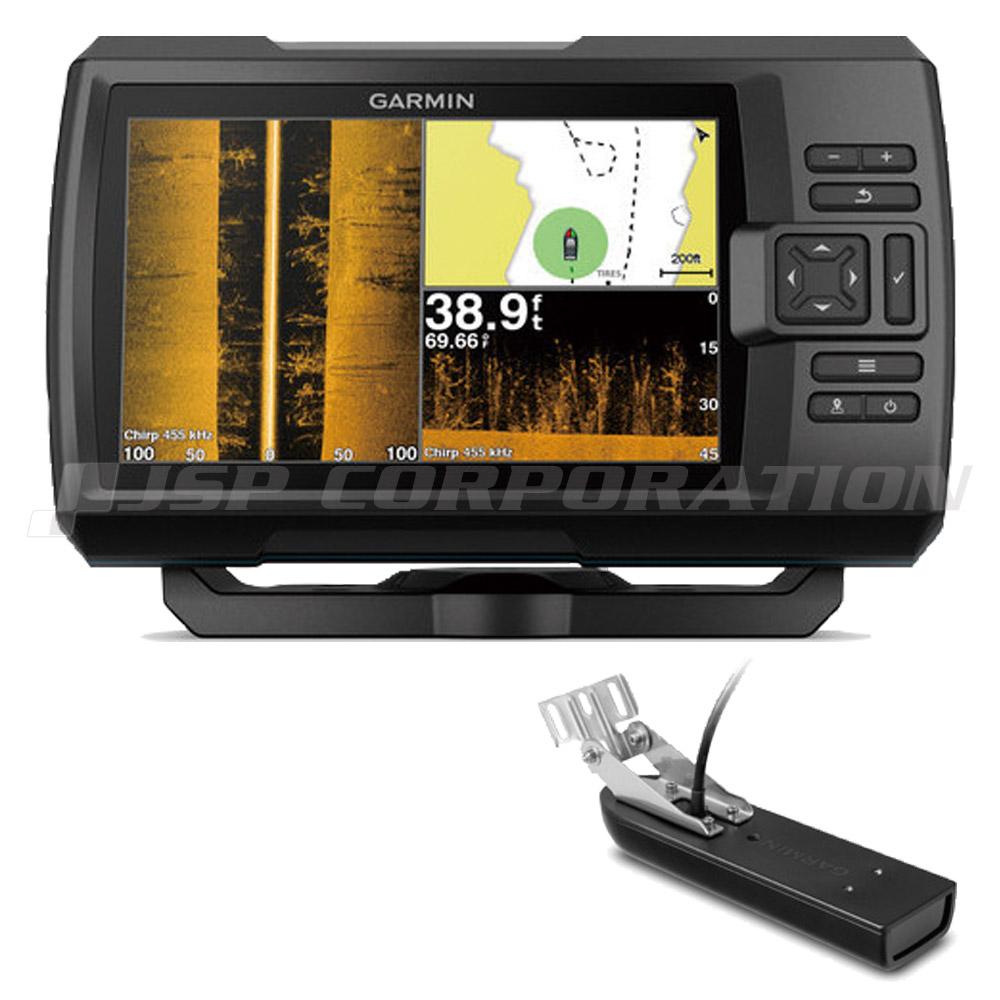 4f62c0c9ba86 GARMIN(ガーミン)7型GPS連動CHIRP魚探STRIKER Plus 7sv GT23M-TM振動子セット 定番