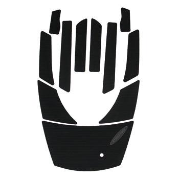 HYDRO-TURFデッキマットキット(テープ付き)FX140/FX160/FX HO(02-09) Cut Groove,Black 9PCS