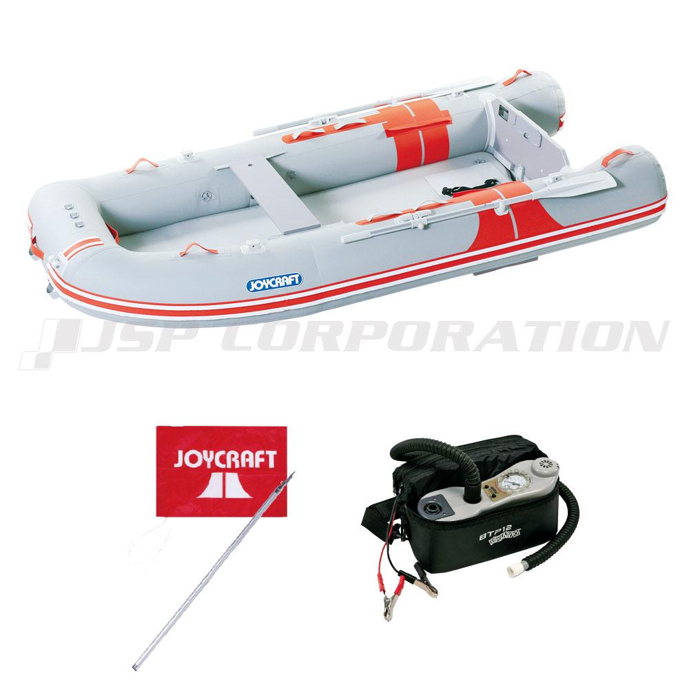 オレンジペコ323ワイド JOP-323W 予備検査付き 5人乗り ゴムボート ジョイクラフト