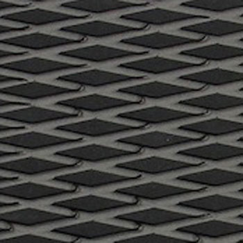 HYDRO-TURFツートン汎用トラクションマット(テープ付き)カットダイヤ BLACK/D.GRAY
