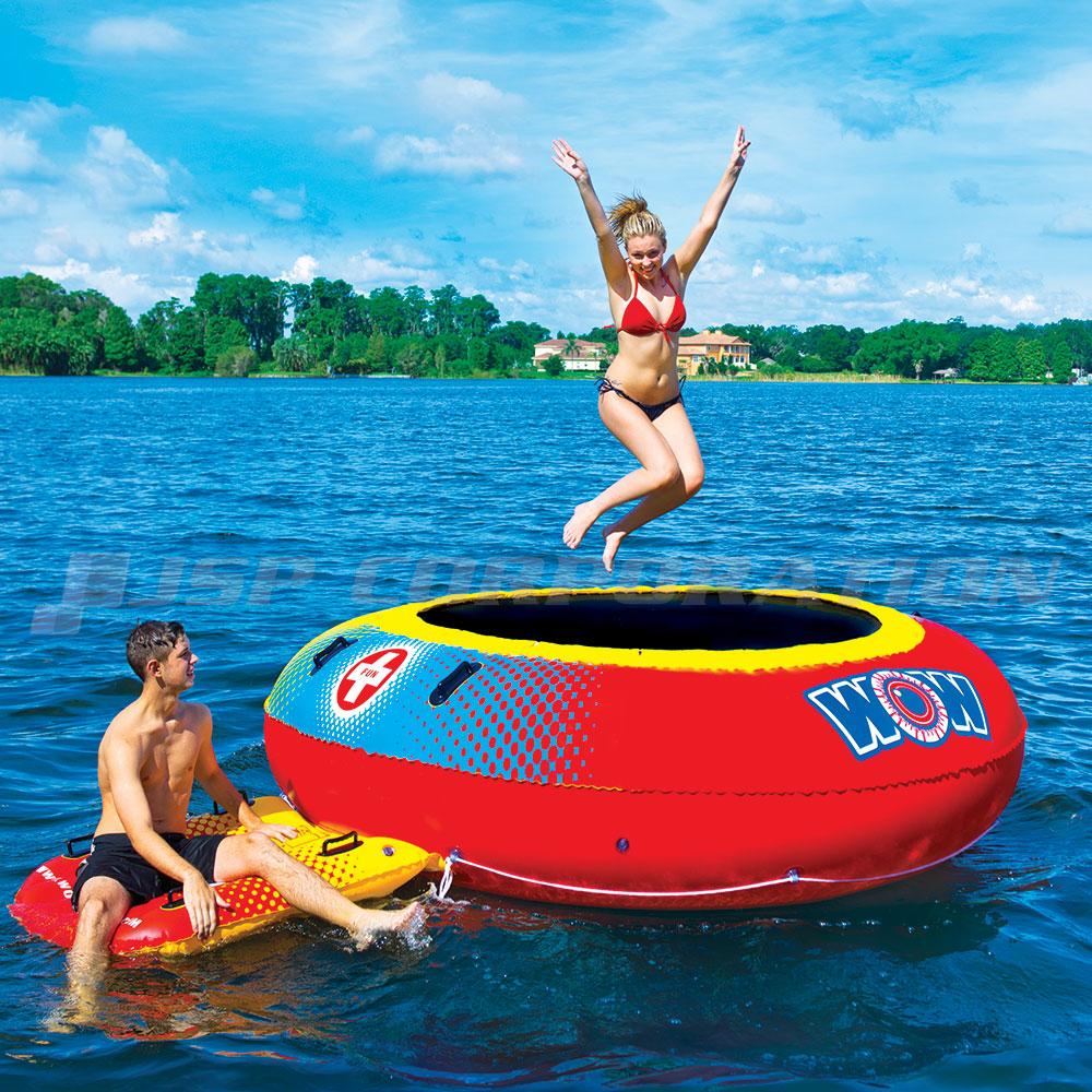 バウンサー WOW ワオ 浮き輪 フローター プール
