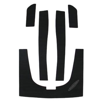 HYDRO-TURFデッキマットキット(テープ付き)GSX/GSX-L MOLDED DIAMOND, Black 5PCS