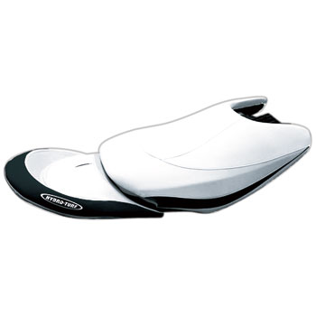 HYDRO-TURFシートカバーFX Cruiser140(04)/160(04) Black/White