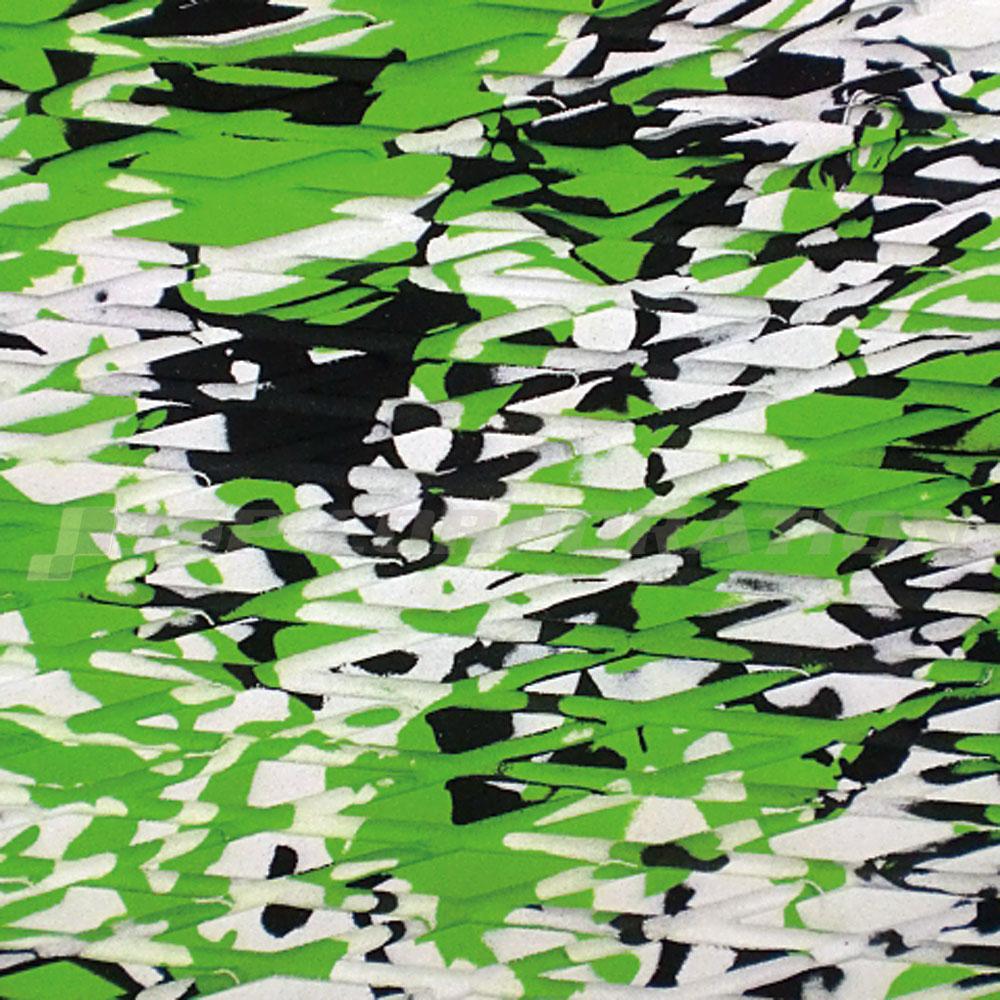 HYDRO-TURFトラクションマット(テープ付き)カットダイヤモンド LIME GREEN CAMO101×157cm