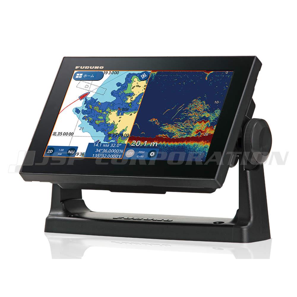 FURUNO(フルノ)9型ワイド カラー液晶GPSプロッタ魚探GP-1971F トランザム型送受波器(525-5PWD)セット 50/200kHz・600W
