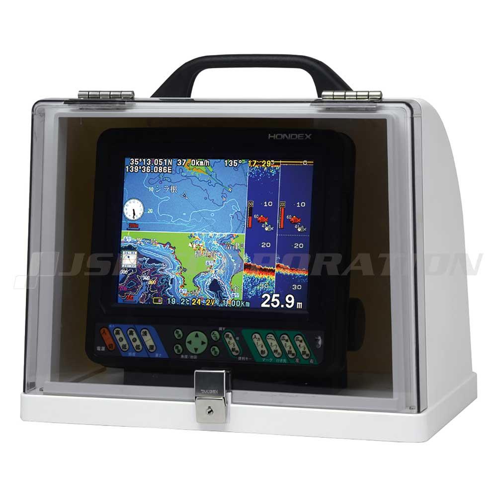 HONDEX(ホンデックス)魚探ボックス 移動(持ち運び)I型GB01バッテリー&充電器付き