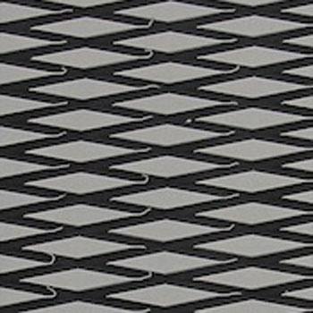 HYDRO-TURFツートン汎用トラクションマット(テープ付き)カットダイヤ GRAY/BLACK