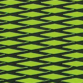 HYDRO-TURFツートン汎用トラクションマット(テープ付き)カットダイヤ LIME GREEN/BLACK