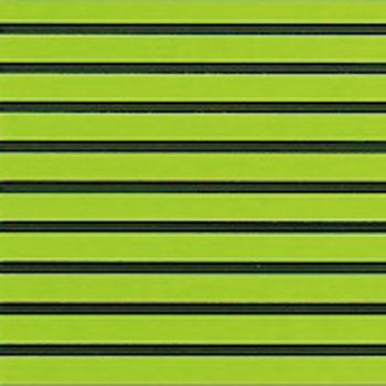 HYDRO-TURFツートン汎用トラクションマット(テープ付き)カットグルーヴ LIME GREEN/BLACK