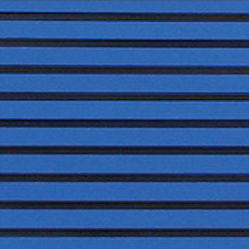 HYDRO-TURFツートン汎用トラクションマット(テープ付き)カットグルーヴ ROYAL/BLACK