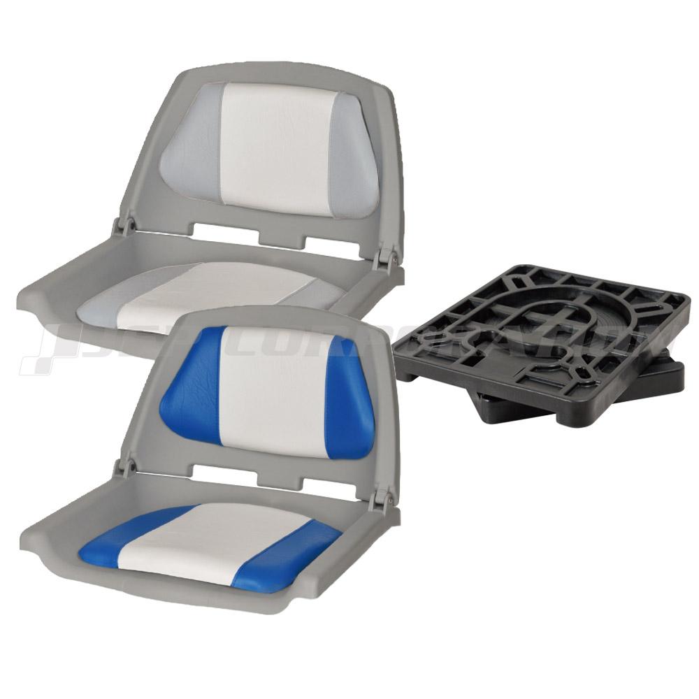 オーシャンサウス フィッシャーマンシート&リムーバブルスイベルベース ボート シート 椅子 チェア