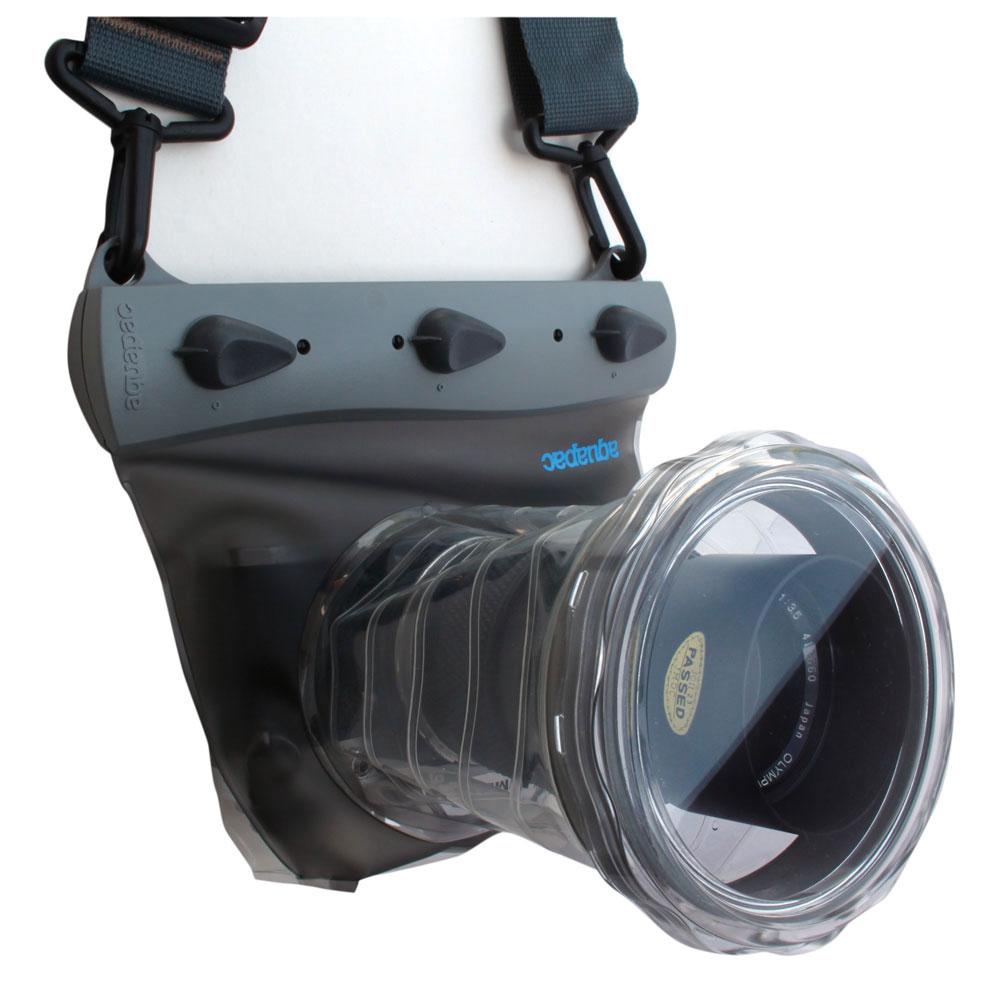 防水ケース ミラーレス・小型一眼レフカメラ用ケース IPX8 クールグレー AQUAPAC アクアパック / アウトドア プール 登山 海