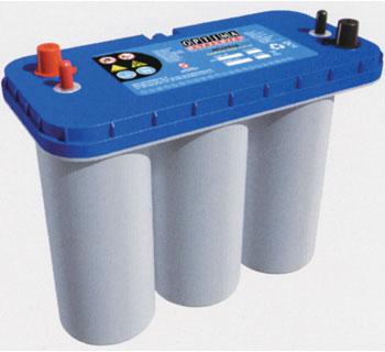 OPTIMA(オプティマ)オプティマバッテリーブルーシリーズ BLUE TOP DC5.5L ディープサイクル